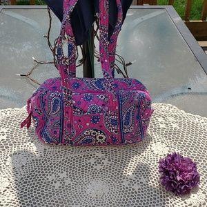 Vera Bradley Womens Purple Purse